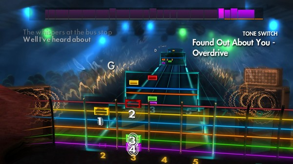 """Скриншот №3 к Rocksmith® 2014 Edition – Remastered – Gin Blossoms - """"Found Out About You"""""""