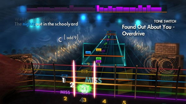 """Скриншот №1 к Rocksmith® 2014 Edition – Remastered – Gin Blossoms - """"Found Out About You"""""""