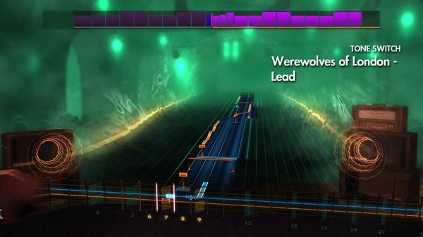 "Скриншот №2 к Rocksmith® 2014 Edition – Remastered – Warren Zevon - ""Werewolves of London"""