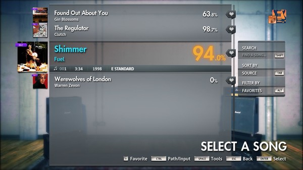 "Скриншот №3 к Rocksmith® 2014 Edition – Remastered – Fuel - ""Shimmer"""