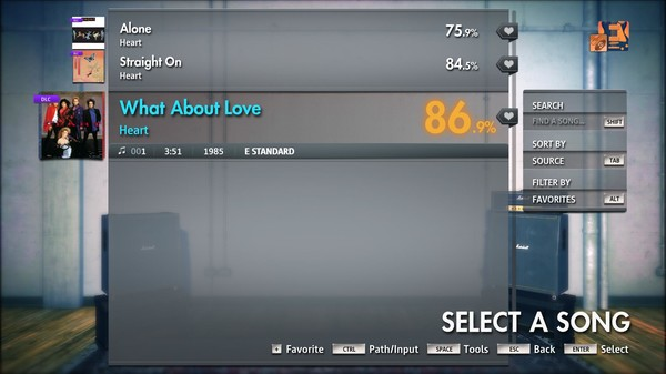 """Скриншот №2 к Rocksmith® 2014 Edition – Remastered – Heart - """"What About Love"""""""