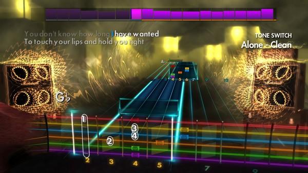 "Скриншот №3 к Rocksmith® 2014 Edition – Remastered – Heart - ""Alone"""