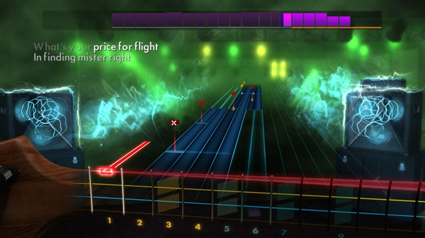 "Скриншот №5 к Rocksmith® 2014 Edition – Remastered – Night Ranger - ""Sister Christian"""