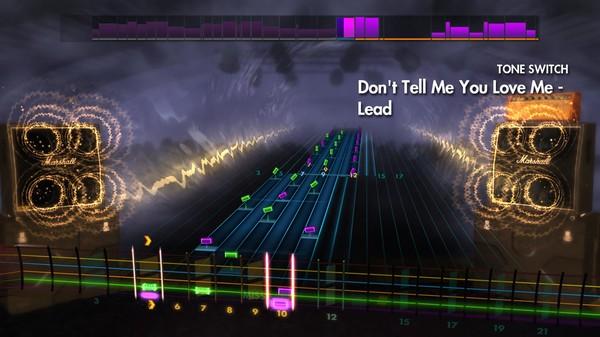 "Скриншот №4 к Rocksmith® 2014 Edition – Remastered – Night Ranger - ""Dont Tell Me You Love Me"""
