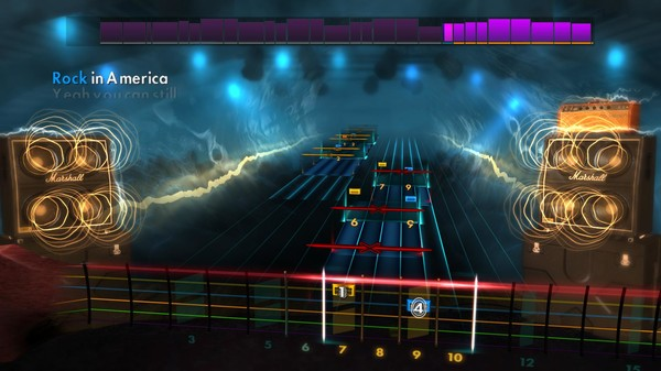 "Скриншот №3 к Rocksmith® 2014 Edition – Remastered – Night Ranger - ""You Can Still Rock in America"""