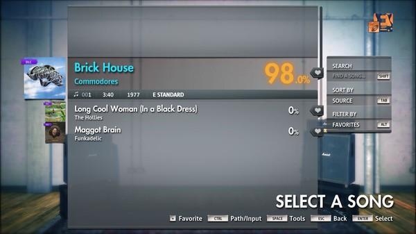 """Скриншот №2 к Rocksmith® 2014 Edition – Remastered – Commodores - """"Brick House"""""""