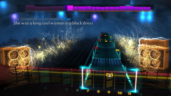 """Скриншот №2 к Rocksmith® 2014 Edition – Remastered – The Hollies - """"Long Cool Woman In a Black Dress"""""""