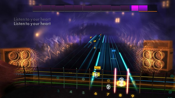 """Скриншот №2 к Rocksmith® 2014 Edition – Remastered – Roxette - """"Listen to Your Heart"""""""