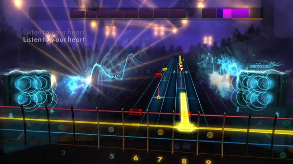 """Скриншот №5 к Rocksmith® 2014 Edition – Remastered – Roxette - """"Listen to Your Heart"""""""