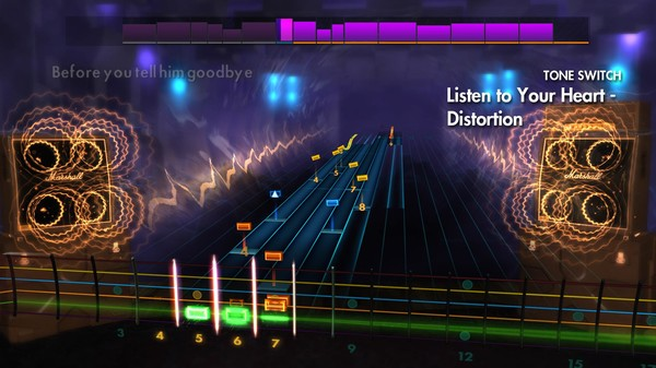 """Скриншот №1 к Rocksmith® 2014 Edition – Remastered – Roxette - """"Listen to Your Heart"""""""