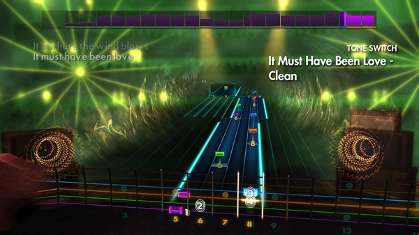 "Скриншот №2 к Rocksmith® 2014 Edition – Remastered – Roxette - ""It Must Have Been Love"""