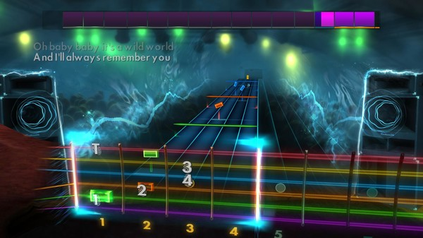 "Скриншот №1 к Rocksmith® 2014 Edition – Remastered – Cat Stevens - ""Wild World"""