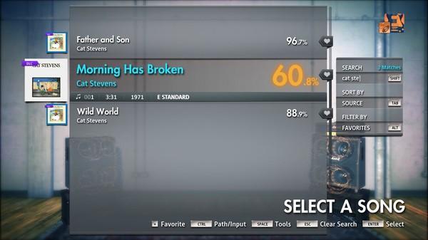 """Скриншот №3 к Rocksmith® 2014 Edition – Remastered – Cat Stevens - """"Morning Has Broken"""""""