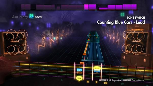 "Скриншот №5 к Rocksmith® 2014 Edition – Remastered – Dishwalla - ""Counting Blue Cars"""