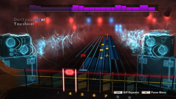 "Скриншот №1 к Rocksmith® 2014 Edition – Remastered – Coldplay- ""Shiver"""
