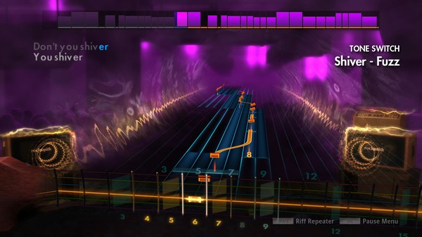 "Скриншот №3 к Rocksmith® 2014 Edition – Remastered – Coldplay- ""Shiver"""