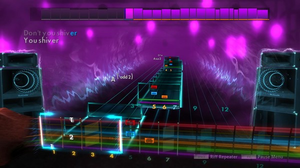 "Скриншот №4 к Rocksmith® 2014 Edition – Remastered – Coldplay- ""Shiver"""