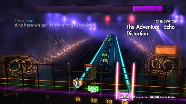 "Скриншот №3 к Rocksmith® 2014 Edition – Remastered – Angels  Airwaves- ""The Adventure"""