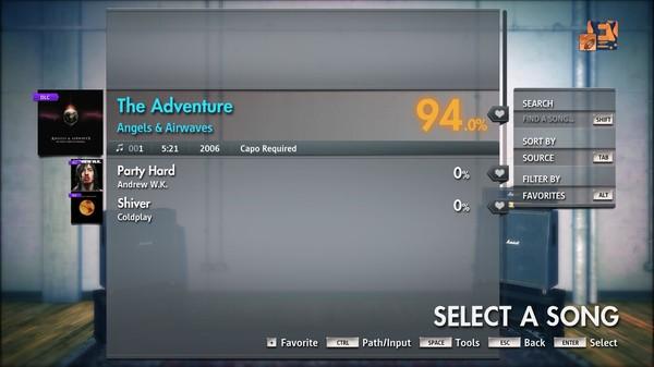 "Скриншот №5 к Rocksmith® 2014 Edition – Remastered – Angels  Airwaves- ""The Adventure"""