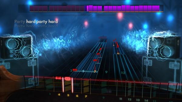 "Скриншот №1 к Rocksmith® 2014 Edition – Remastered – Andrew W.K.- ""Party Hard"""