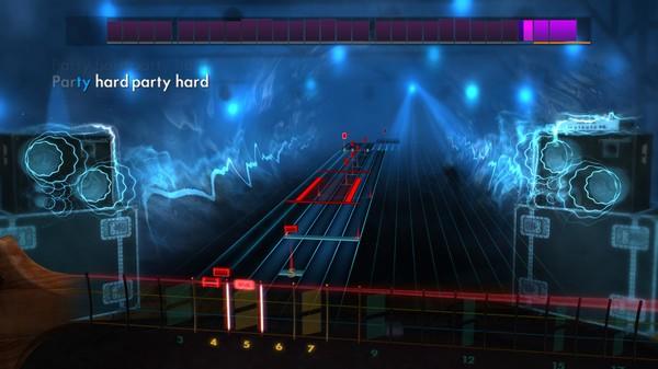 "Скриншот №2 к Rocksmith® 2014 Edition – Remastered – Andrew W.K.- ""Party Hard"""