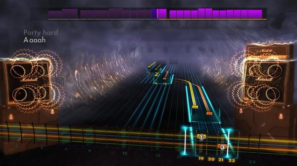 "Скриншот №3 к Rocksmith® 2014 Edition – Remastered – Andrew W.K.- ""Party Hard"""
