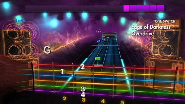 "Скриншот №2 к Rocksmith® 2014 Edition – Remastered – Greta Van Fleet - ""Edge of Darkness"""
