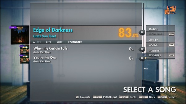 "Скриншот №3 к Rocksmith® 2014 Edition – Remastered – Greta Van Fleet - ""Edge of Darkness"""