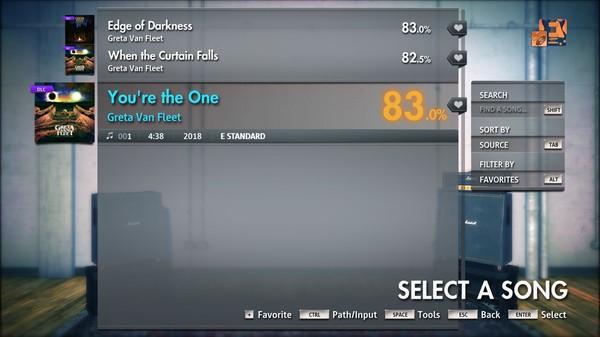 "Скриншот №3 к Rocksmith® 2014 Edition – Remastered – Greta Van Fleet - ""Youre the One"""