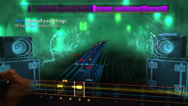 "Скриншот №5 к Rocksmith® 2014 Edition – Remastered – Greta Van Fleet - ""When the Curtain Falls"""