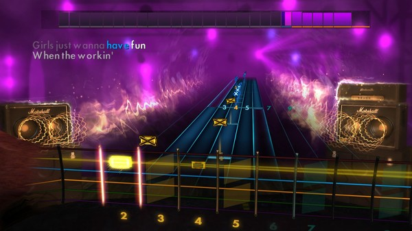 "Скриншот №2 к Rocksmith® 2014 Edition – Remastered – Cyndi Lauper - ""Girls Just Want to Have Fun"""