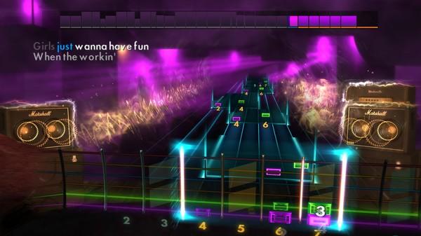 "Скриншот №1 к Rocksmith® 2014 Edition – Remastered – Cyndi Lauper - ""Girls Just Want to Have Fun"""