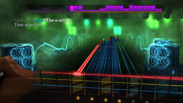 """Скриншот №5 к Rocksmith® 2014 Edition – Remastered – Cyndi Lauper - """"Time After Time"""""""