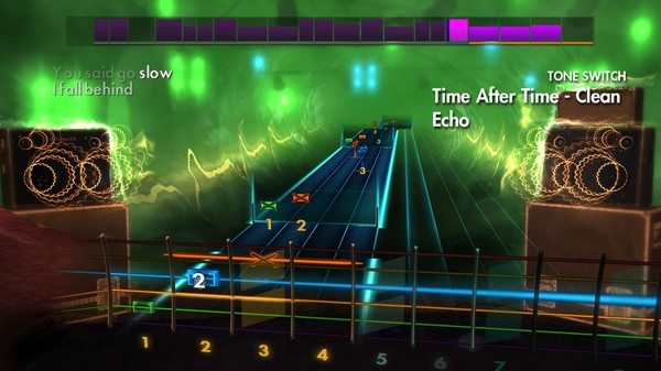 """Скриншот №2 к Rocksmith® 2014 Edition – Remastered – Cyndi Lauper - """"Time After Time"""""""