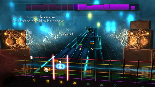"""Скриншот №2 к Rocksmith® 2014 Edition – Remastered – Cyndi Lauper - """"True Colors"""""""
