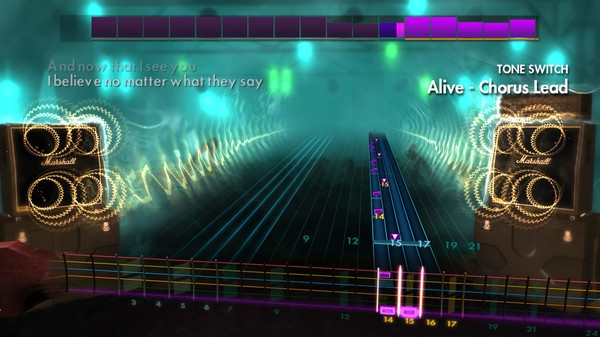 "Скриншот №5 к Rocksmith® 2014 Edition – Remastered – P.O.D. - ""Alive"""