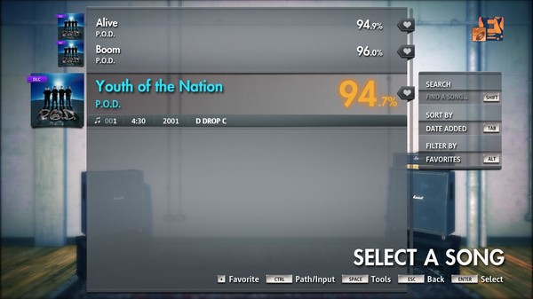 """Скриншот №1 к Rocksmith® 2014 Edition – Remastered – P.O.D. - """"Youth of the Nation"""""""