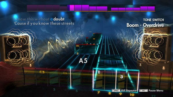 "Скриншот №2 к Rocksmith® 2014 Edition – Remastered – P.O.D. - ""Boom"""