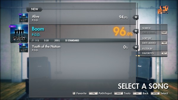 "Скриншот №1 к Rocksmith® 2014 Edition – Remastered – P.O.D. - ""Boom"""