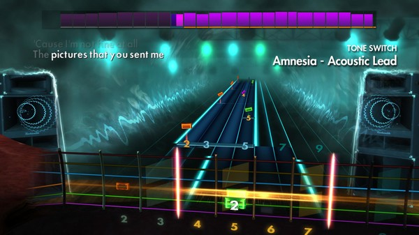 Скриншот №1 к Rocksmith® 2014 Edition – Remastered – 5 Seconds of Summer Song Pack