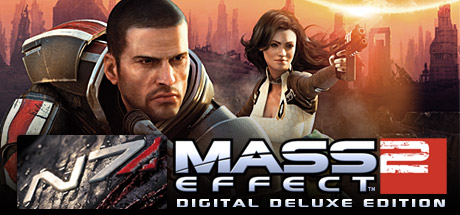 Mass Effect 2 Digital Deluxe Edition Cover Image