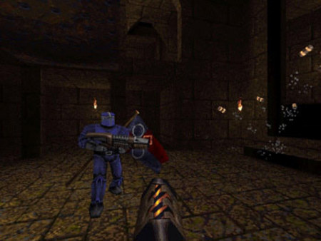 скриншот QUAKE Mission Pack 2: Dissolution of Eternity 0