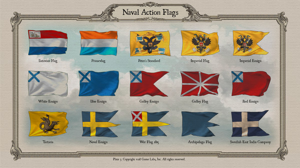 Скриншот №4 к Naval Action - Flags