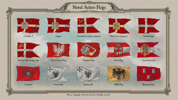 Скриншот №5 к Naval Action - Flags