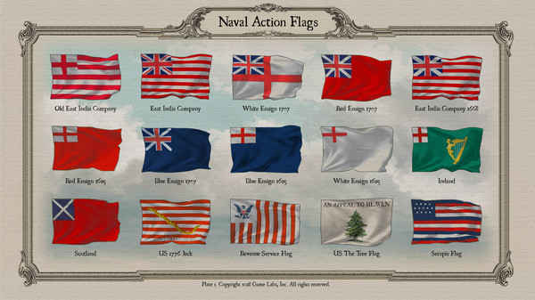 Скриншот №2 к Naval Action - Flags