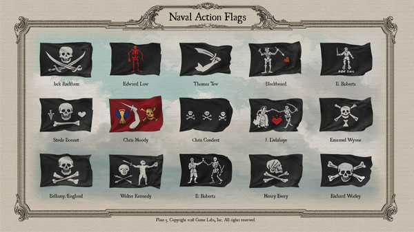 Скриншот №6 к Naval Action - Flags