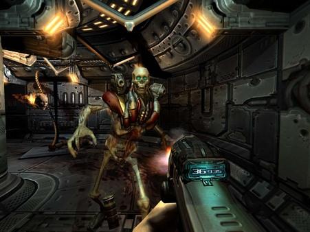 скриншот DOOM 3 0