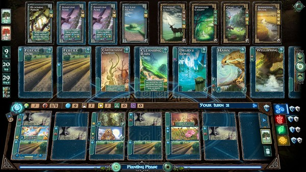 Screenshot of Mystic Vale