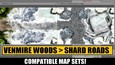 Fantasy Grounds - Meanders Map Pack: Shard Roads (Map Pack) (DLC)