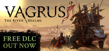 Vagrus - The Riven Realms Cover Image